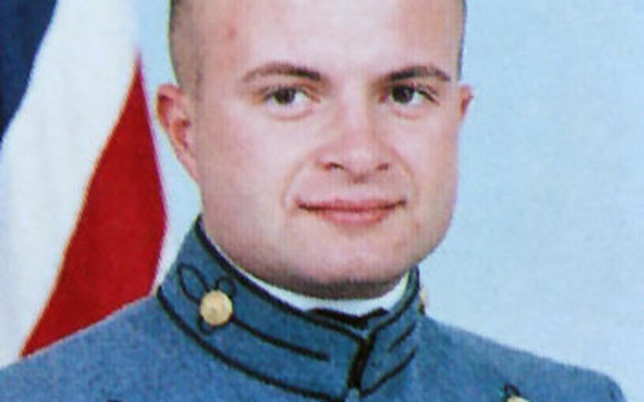 1st Lt. Jason D. Davis' request to be allowed to resign was denied by the secretary of the Air Force.