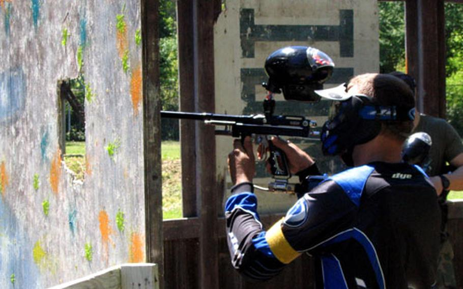 Navy recreation officials in Italy are hoping to get enough teams together to hold a region-wide paintball tournament.