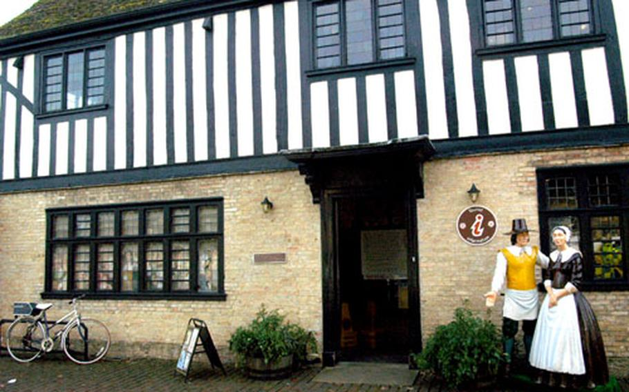 For 3.75 pounds, visitors can tour the spooky home of Oliver Cromwell in Ely.