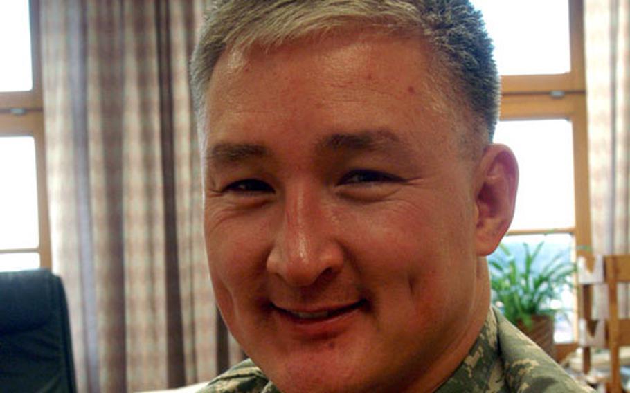Dr. (Col.) Dallas W. Homas, commander, U.S. Medical Department Activity-Würzburg and Würzburg Army Community Hospital.