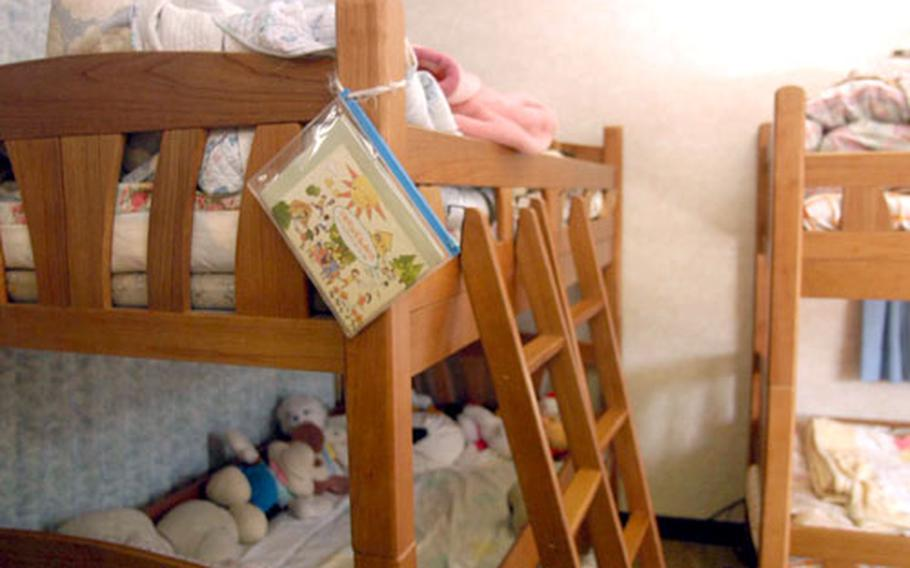 The orphanage is at maximum capacity and has several children waiting for open beds.