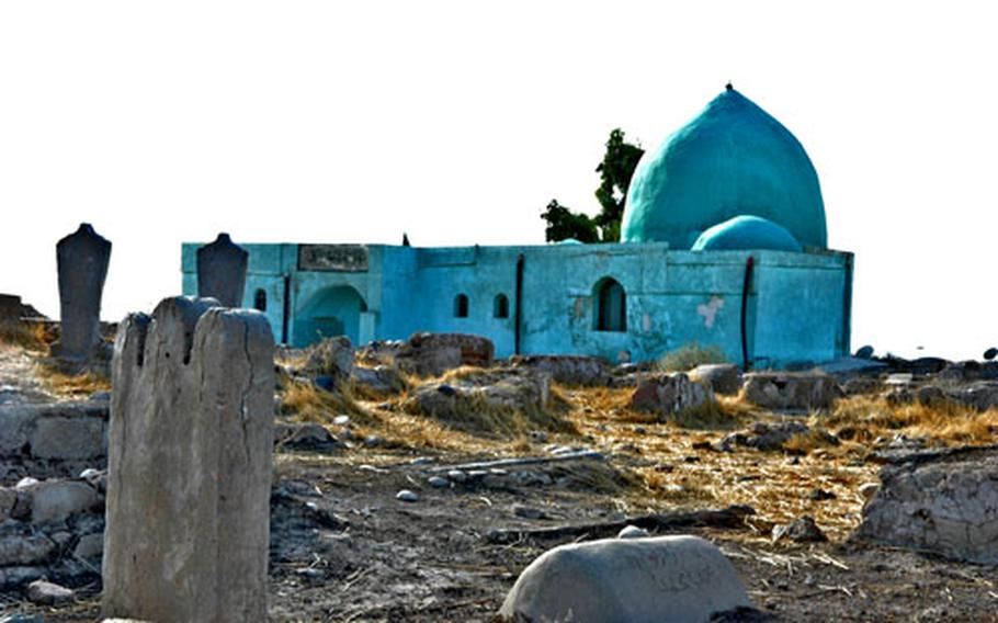 A 300-year-old Turkoman mosque on Forward Operating Base Warrior is off limits to U.S. troops, but a chplain is trying to arrange for a local imam to lead prayers there for 16 Muslim soldiers in the 1st Brigade Combat Team of the 101st Airborne Division.