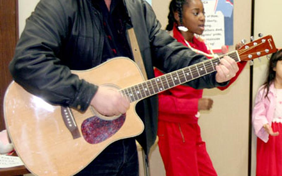 Elvis put in an appearance at Sullivans Elementary School Tuesday to kick off the Rock n' Roll Read-A-Thon.