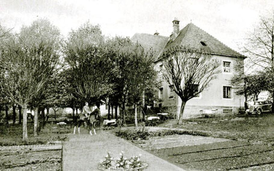 A scene from Netzaberg, Germany, early in the 20th century.