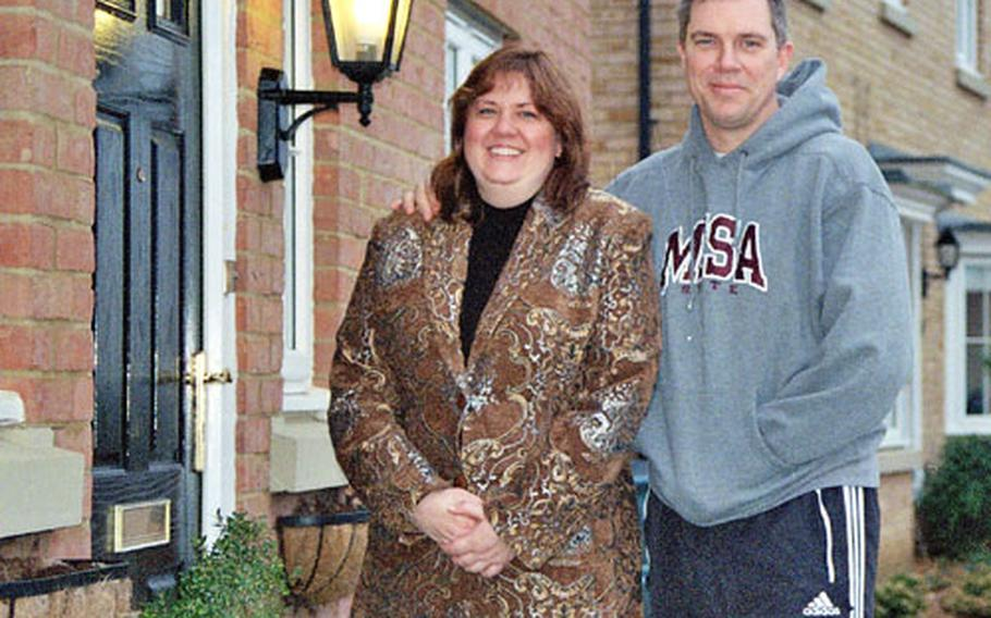 Cynthia and Tom Harrison opted for American size with English class when they bought their home in Ely.