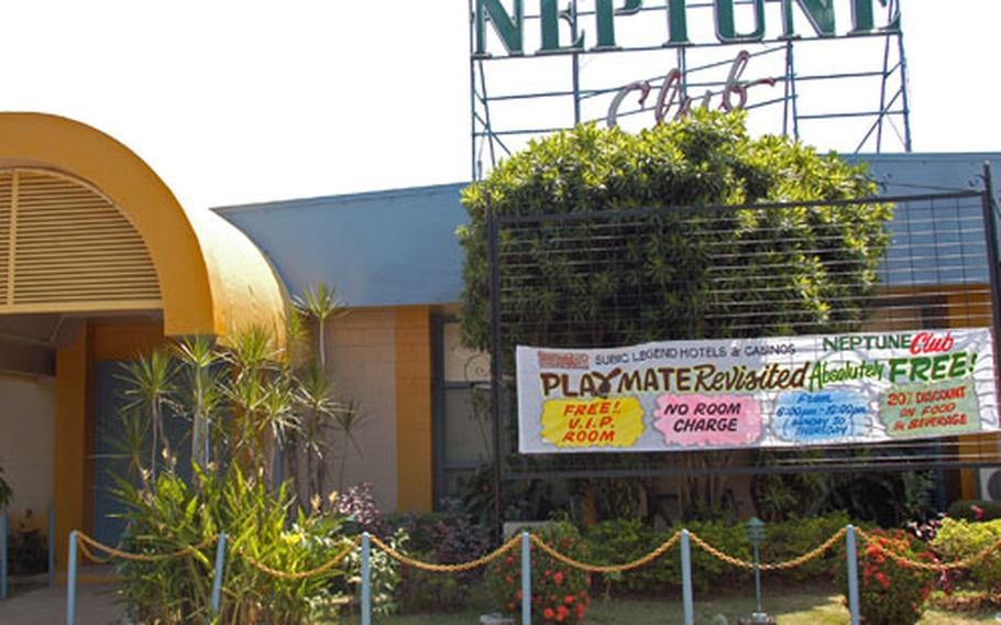 The Neptune Club at Subic Bay Freeport is where a woman last was seen with four U.S. Marines on Nov. 1. The woman maintains the Marines forced her into a van, where one of them the raped her while the others cheered him on.