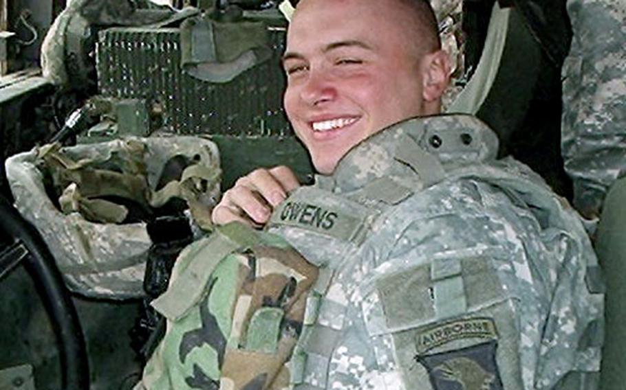Spc. Anthony Owens had just joined a new platoon. On the morning of Feb. 1 he went out on a routine mission that turned into a firefight that left a number of insurgents — and Owens — dead.