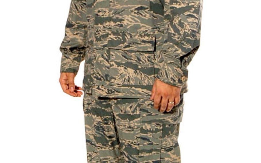 The new Airman Battle Uniform.