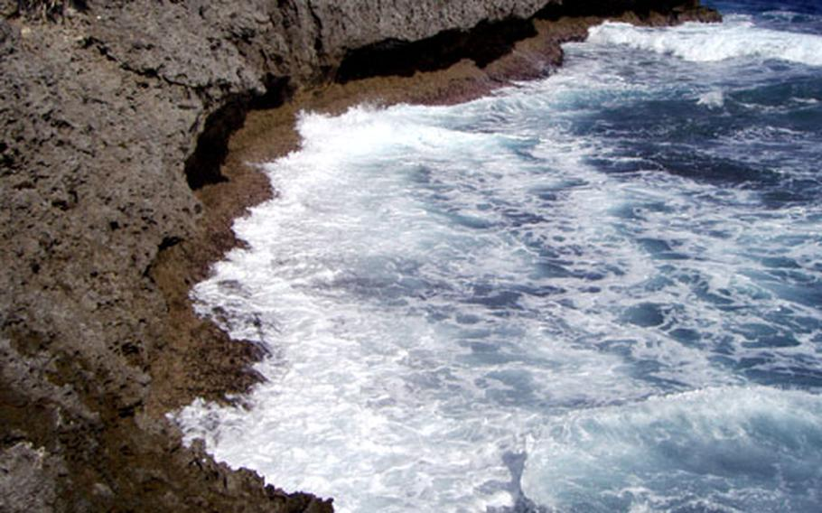 Maeda Point is considered by safety officials one of the seven most dangerous water spots on Okinawa.