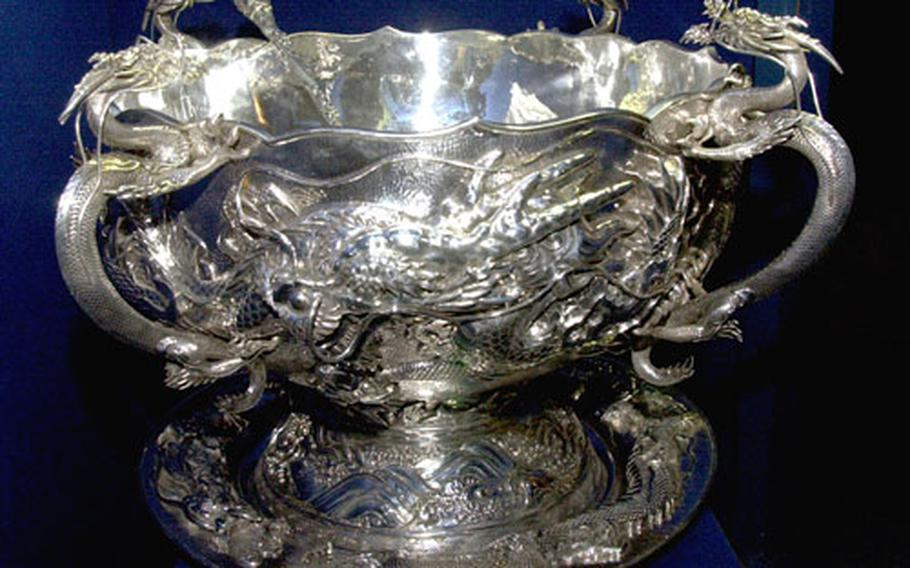 The valuable Liscum Bowl is back in 2nd Infantry Division hands after spending almost three years in the U.S. for refurbishment.