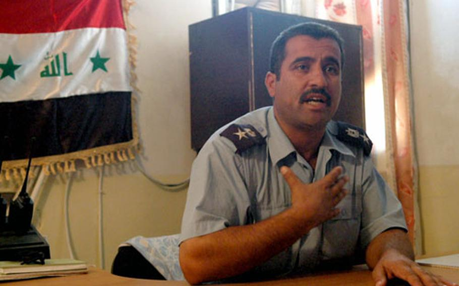 Iraqi police Lt. Col. Lt. Col. Ad'nan Abid Al Hamid said a recent car bomb attack on his station in the Jazirah area of Anbar province has only strengthened his officers' resolve to root out insurgents in western Iraq.