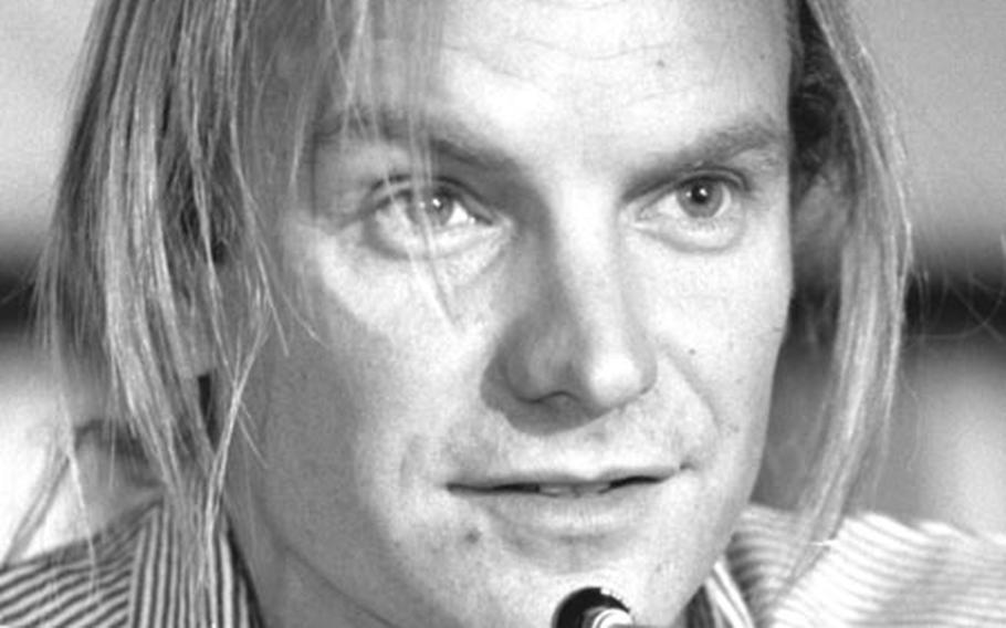 Sting said he gor involved with the effort to save the rain forests after Raoni requested his assistance.