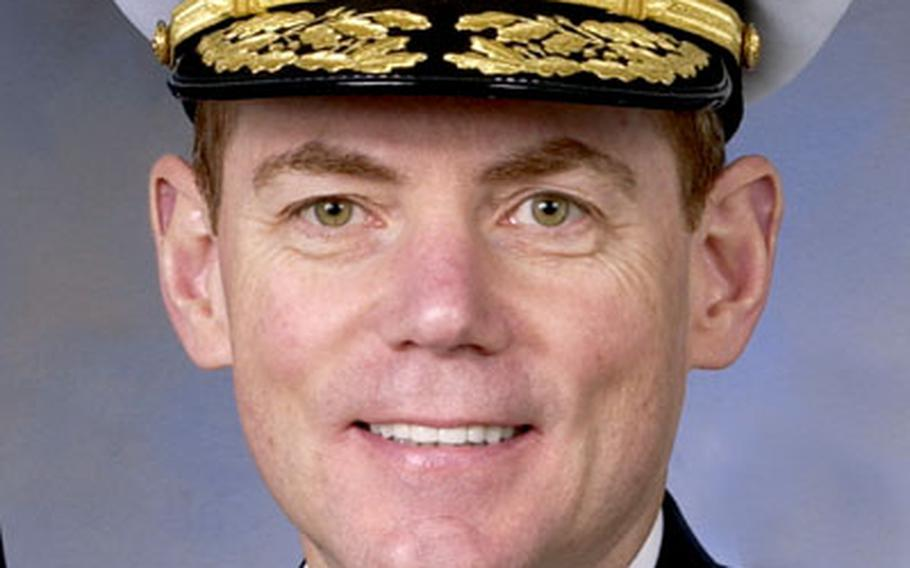 Vice Admiral Kevin J. Cosgriff