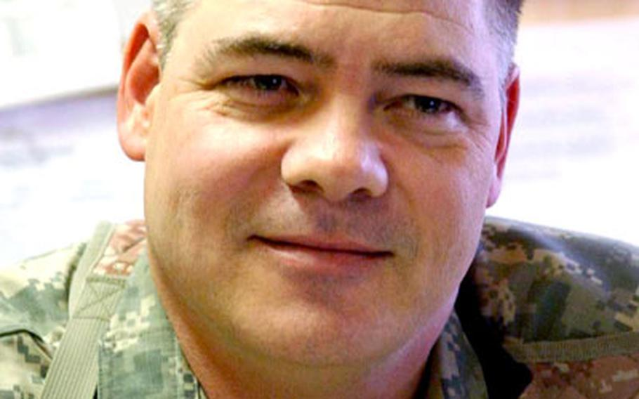 """""""Our goal is to leave a legacy, not a vacuum,"""" said Dr. (Col.) Thomas Frank, deputy commander of clinical services at Bagram Air Base's 14th Combat Support Hospital."""