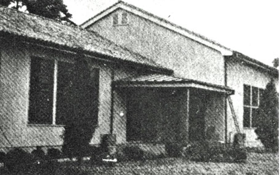 Yokota Elementary School opened Sept. 12, 1946, in Yokota's housing area on nearby Johnson Air Base, Japan, with just two teachers and 12 students in a small room behind the chapel lounge.