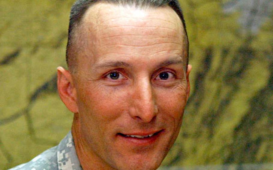 Lt. Col. Chris Toner, commander of Task Force Catamount.