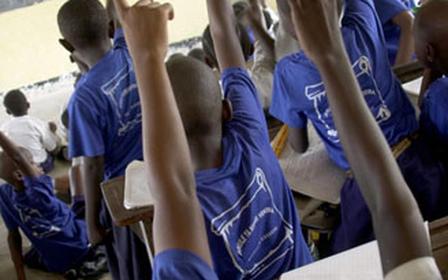 Nearly 100 students are packed into each classroom at the Tandale Primary School in a Dar es Salaam, Tanzania, slum. As the U.S. military expands its mission in the Horn of Africa region to include countries like Tanzania, it confronts a set of problems similar, yet different to issues in Ethiopia and Djibouti.