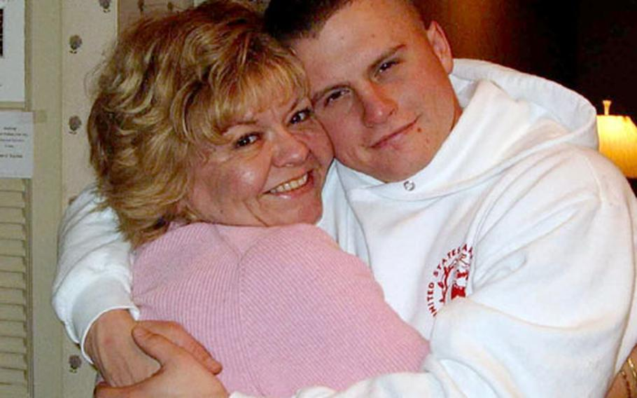 Patty Lewis spearheads an unofficial parents' group for the 3rd Battalion, 2nd Marine Regiment, which includes her son, Lance Cpl. Brian Michael Lewis.