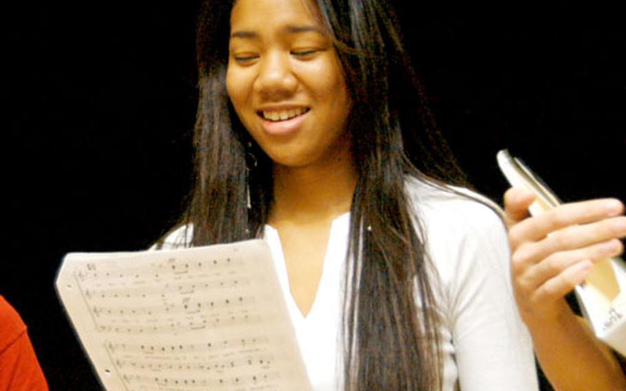 Senior high school singer Misari Buckley has a serious range but tenor fits her best, she said.