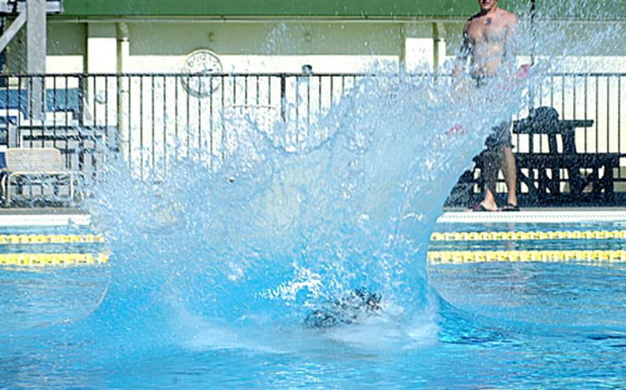 The Crazy Cannonball Contest was a big splash.