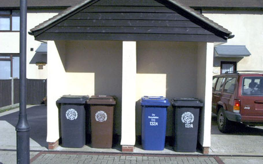 Every bin in its place, and a place for every bin.