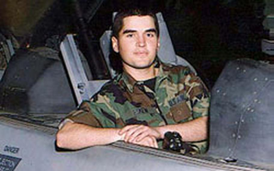 Airman 1st Class Charles E. Eskew was murdered Nov. 17, 2001, in his dormitory room on Kadena Air Base, Okinawa.