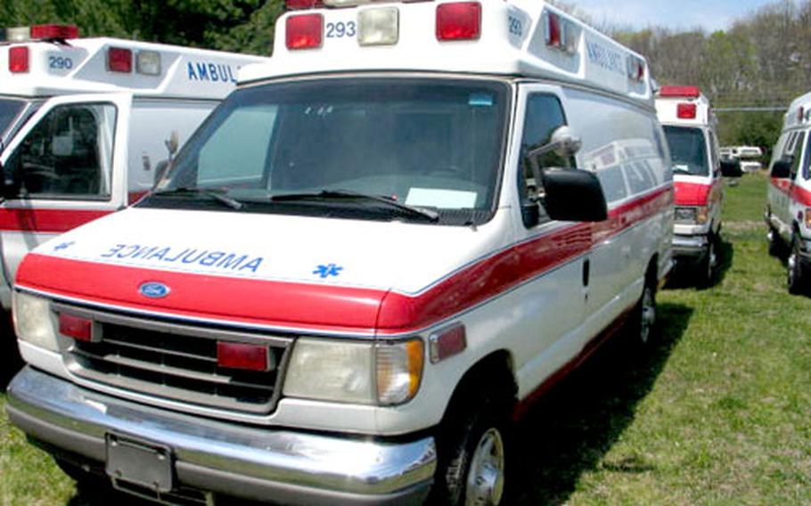 Fourteen ambulances donated by a non-profit organization in Seattle, Wash., are on their way to hospitals in the southern Philippines thanks to the U.S. Marines and sailors participating in the ongoing exercises with the Philippines military.