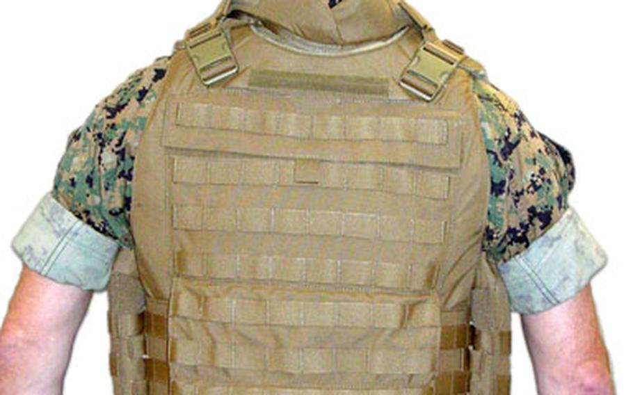 The project manager for the Marine Corps' new body armor says all Marines downrange will have the Modular Tactical Vests by the end of 2007.
