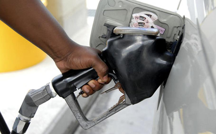 Gas prices will drop again in November at AAFES stations in the Pacific.