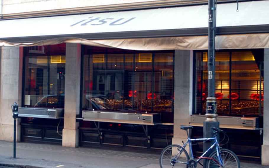 The Itsu restaurant, in Soho.
