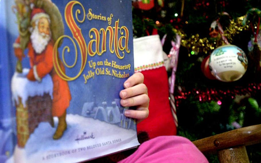 Reading books about the holiday is a good way to encourage children to read during the upcoming 18-day break from school, said Suzanne Landrum, a Dependents Schools-Pacific literacy facilitator.