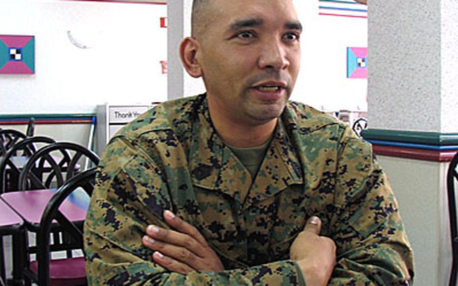 Marine Gunnery Sgt. Richard Irizarry talks about combatting stereotypes. He's the new equal opportunity advisor for the 3rd Marine Logistics Group on Okinawa.