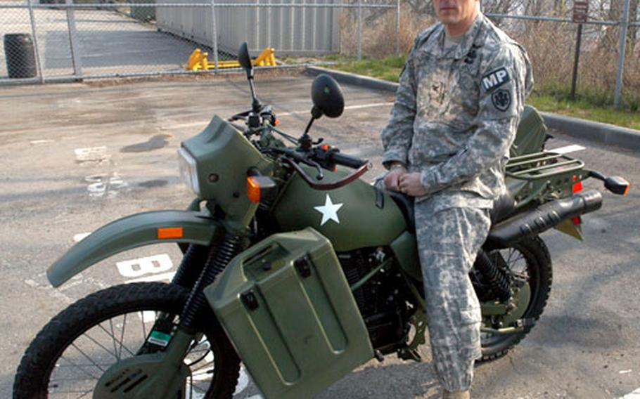 Col. Clayton Cobb's Harley-Davidson MT-500 is one of only 500 made in Harley-Davidson's failed attempt to sell motorcycles to the U.S. military. Many of the bikes are in museums and private collections. Cobb is with U.S. Forces Korea and stationed at Yongsan Garrison.