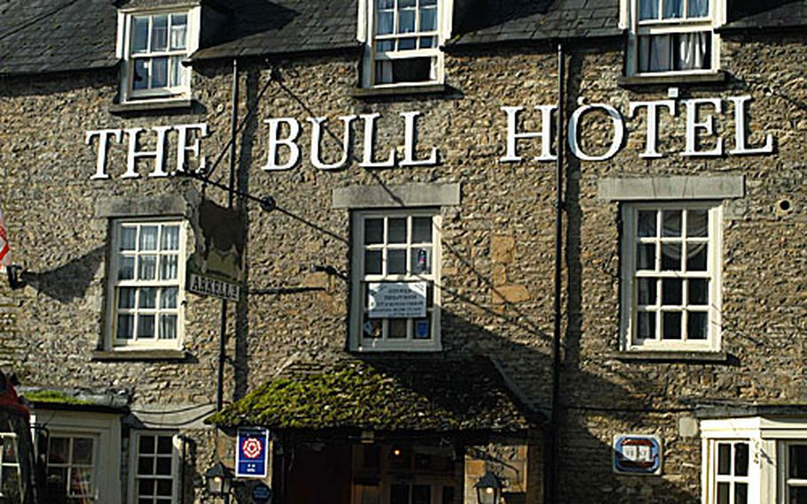 The Bull Hotel in Fairford.