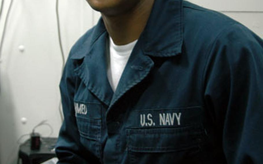 Seaman Mawdud Ahmed joined the Navy to make a better life for himself and give something back to the country that has given his family so much.