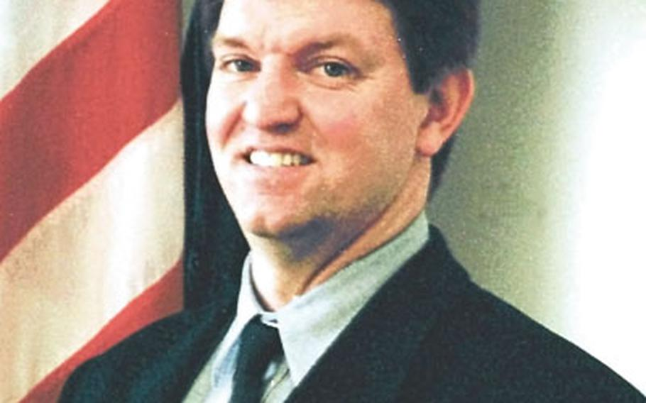 Max Lederer, interim publisher of Stars and Stripes