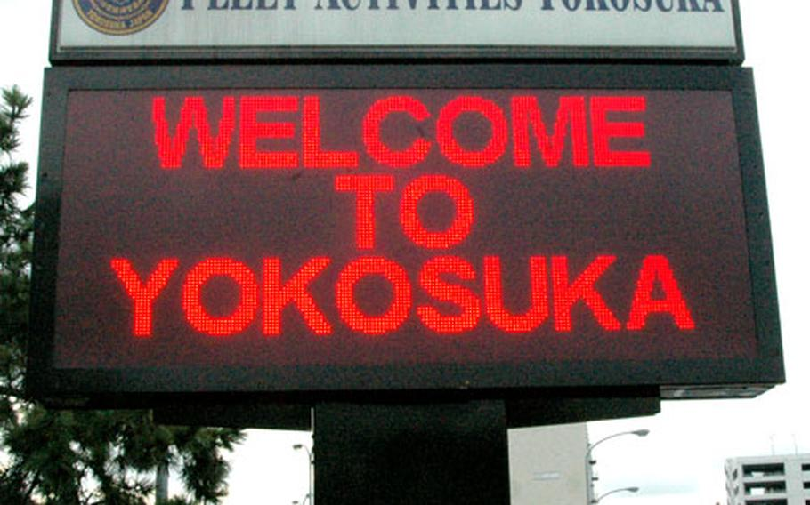 Web sites and Navy programs are working to make the sailors and families of the USS George Washington aircraft carrier feel welcome at Yokosuka when the ship arrives in the summer of 2008.