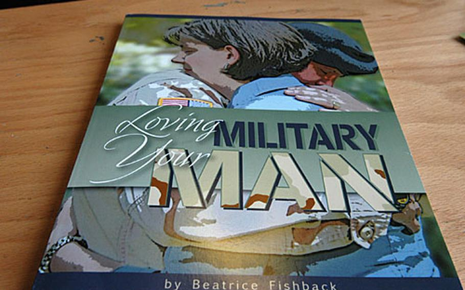 """Bea Fishback's book '""""Loving Your Military Man,"""" a guide to maintaining all aspects of a military marriage, was published this summer."""