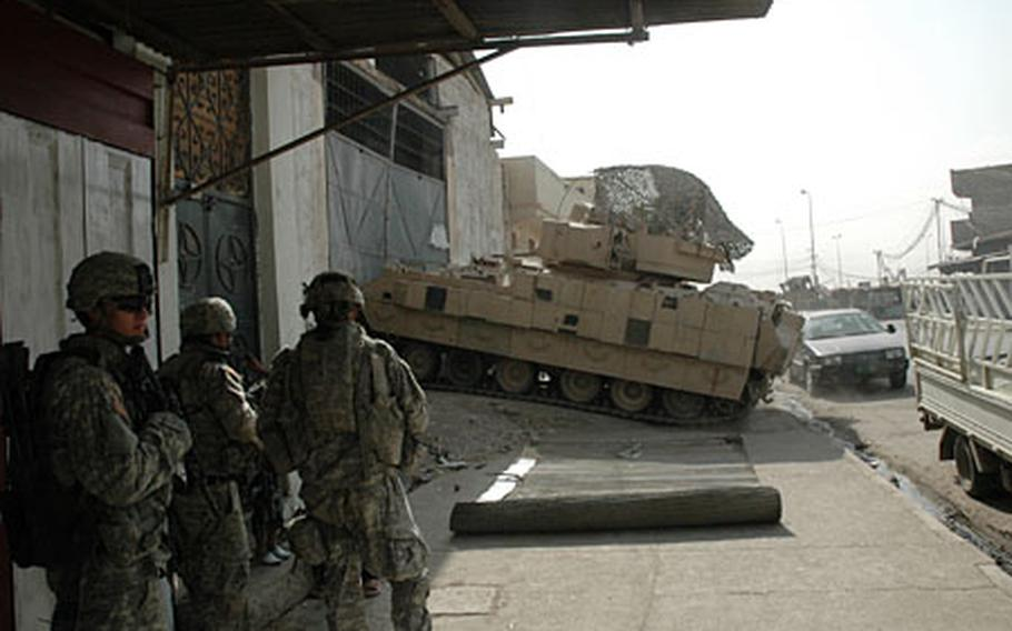 The 2nd Battalion, 7th Cavalry Regiment, 4th Brigade, 1st Cavalry Division raided a bomb making facility on June 23 in eastern Mosul. Many of the money schemes disrupted by the unit go to financing bomb making operations and other insurgent activity.