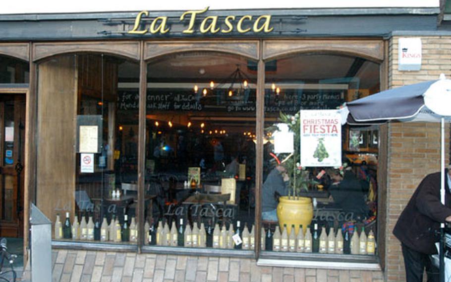 La Tasca is located on Bridge Street in the heart of Cambridge.