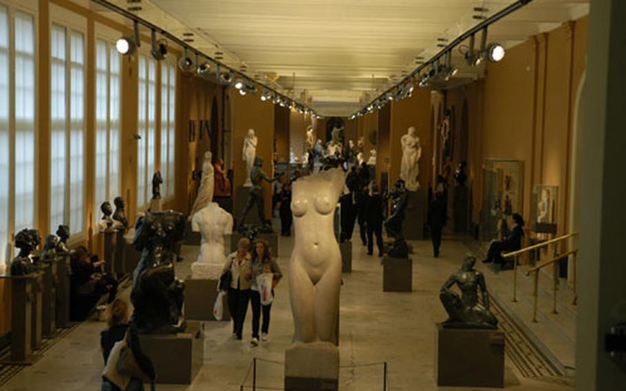 Everything from sculptures to ceramics and clothing are on display at London's Victoria and Albert Museum in South Kensington.