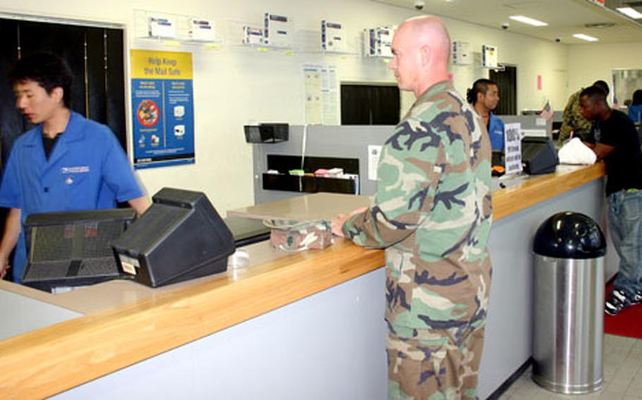 Christmas is approaching and so are mailing deadlines. Military post offices will soon become extremely busy; mail early and avoid the lines said Camp Foster postal workers.