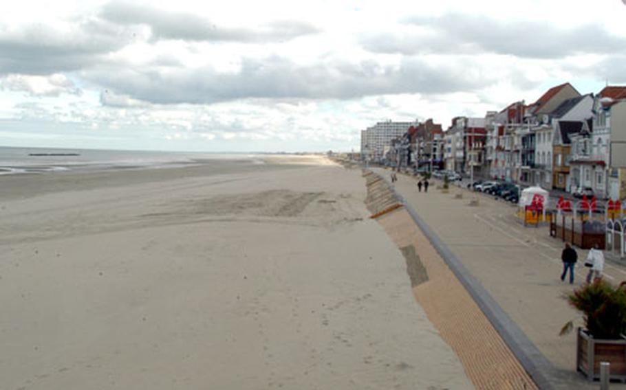 On this now-quiet stretch of beach in Dunkirk, the British staged a massive evacuation that helped boost morale in 1940.
