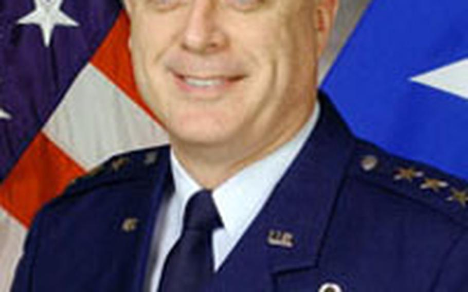 """Lt. Gen. Carroll H. """"Howie"""" Chandler"""