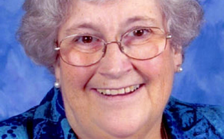 "Georgiana ""Pinkey"" Ferry, 59, from Huron, S.D., a fourth-grade teacher at Kadena Elementary School, died Friday."