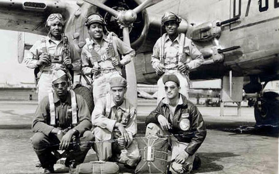 The Tuskegee Airmen were the first black U.S. military pilots. Congress forced the Army Air Corps to form the first all-black unit in 1941.