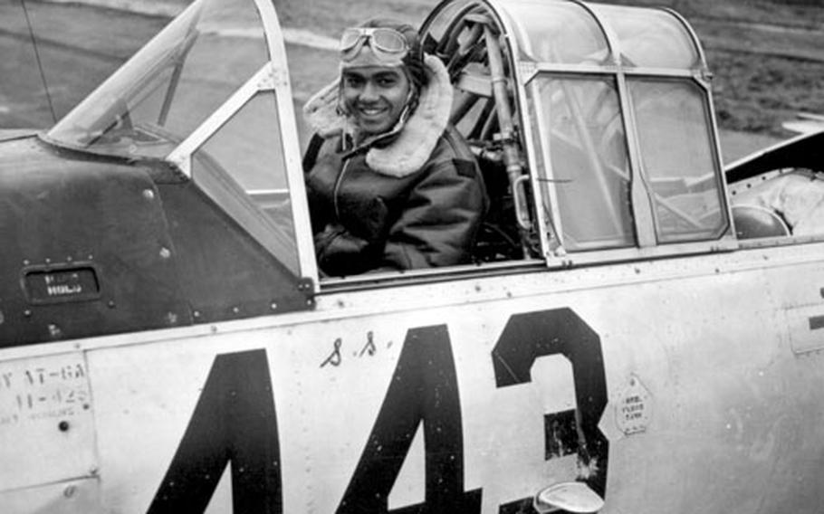Lt. Col. Charles Dryden was selected for Aviation Cadet Training Tuskegee Army flying school in Alabama in 1941. Dryden would go on to retire from active-duty service and teach at Harvard University.