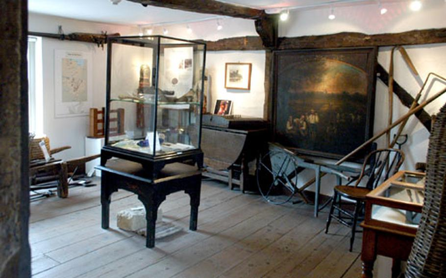 The Cambridge County and Folk Museum is cozily located in a 17th-century building once known as the White Horse Inn.