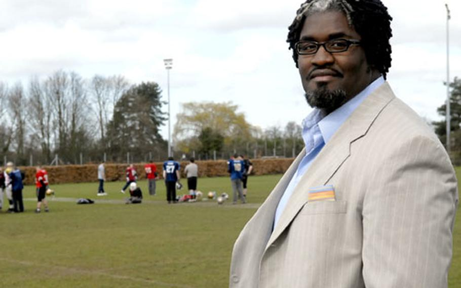 Former NFL player Ian Allen recently became co-owner of the Ipswich Cardinals, a team in the British American Football League.