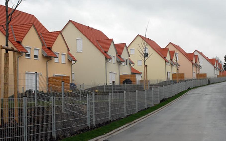 The new off-post military housing area at Netzaberg is the most sought-after location for soldiers and families moving to Grafenwöhr.